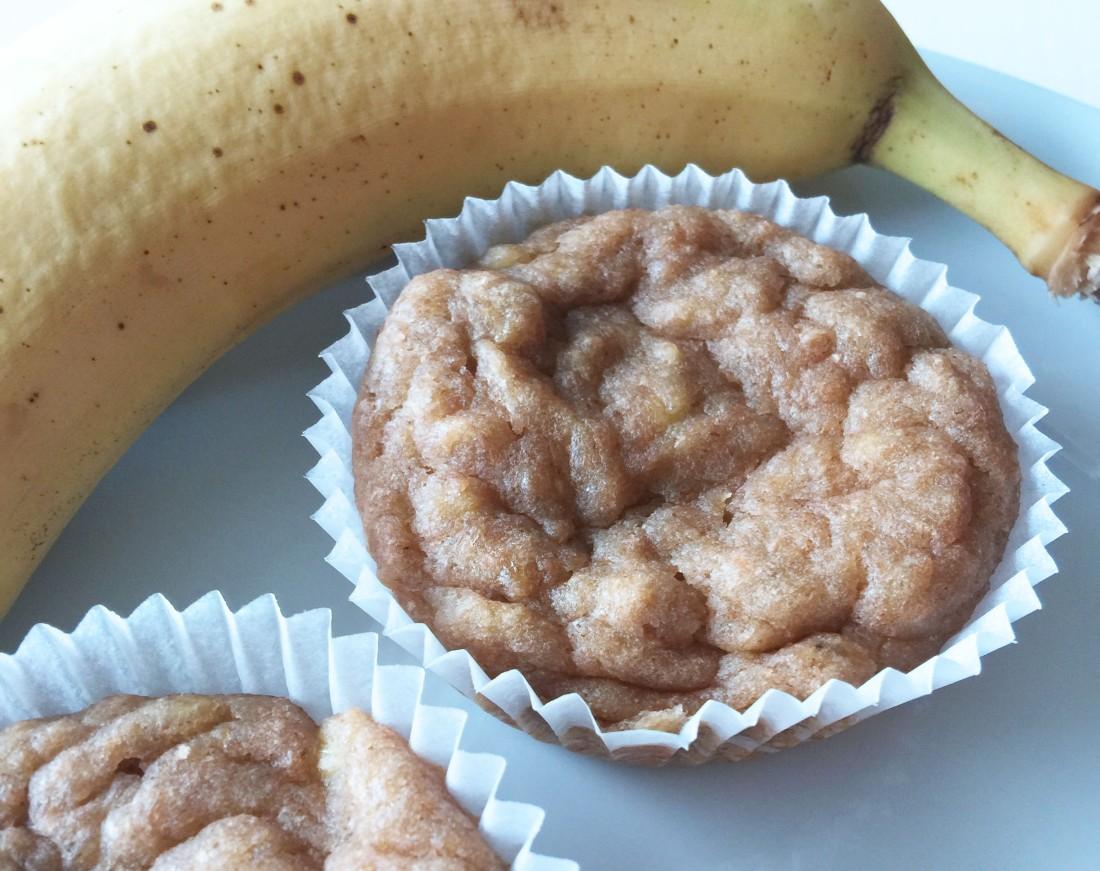 Lieblingsessen // Einfache Bananenmuffins ohneZucker